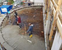 Balkon betonieren